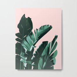Banana Leaves Finesse #3 #tropical #decor #art #society6 Metal Print