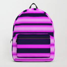 Vaporwave Stripes! Backpack