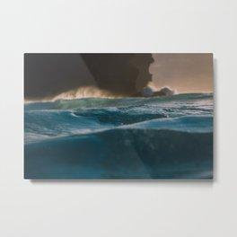 Storm on the Horizon Metal Print