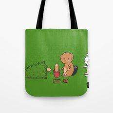 Beavers ruin Christmas Tote Bag