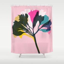 alstroemeria 5 Shower Curtain