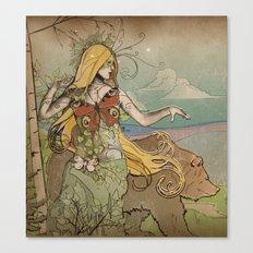 Anastasia II Canvas Print
