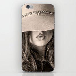 Beautiful Woman iPhone Skin