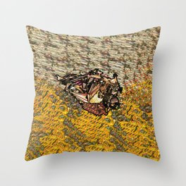 landship Throw Pillow