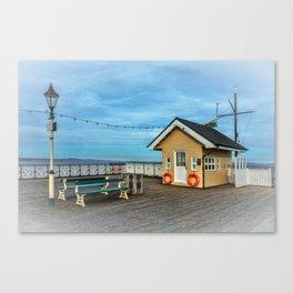 On Penarth Pier Canvas Print