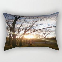 Cold Sunset Rectangular Pillow