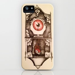 Eye of Time iPhone Case