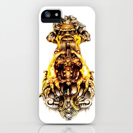 Gargoyle Doorknocker iPhone Case