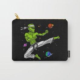 Space Alien Karate Ninja Carry-All Pouch