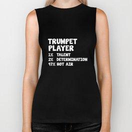 Trumpet Player Talent Determination Hot Air T-Shirt Biker Tank