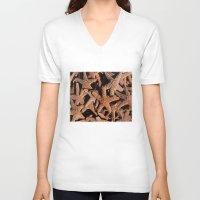 starfish V-neck T-shirts featuring Starfish by John Lyman Photos