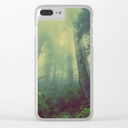 Fey Forest Clear iPhone Case