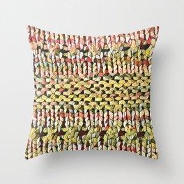 Pink Shawl Throw Pillow