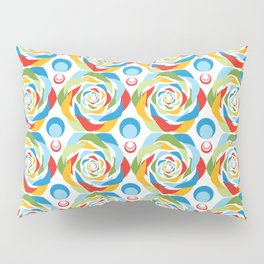 Rose Abstraction Pillow Sham