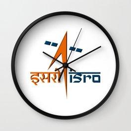Indian Space Research Organization (ISRO) Logo Wall Clock