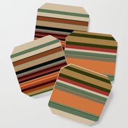 Calming Natural Color Palette Coaster