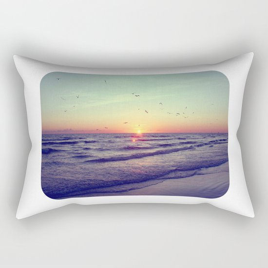 Siesta Key Sunset Rectangular Pillow