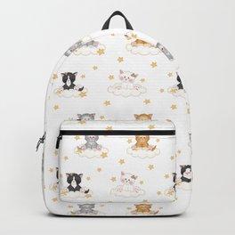 Cat Kitten Baby Girl Nursery Room Decor Backpack