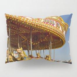 Golden Carousel at the Beach Pillow Sham