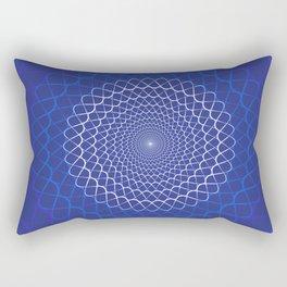 Wave mandala Rectangular Pillow