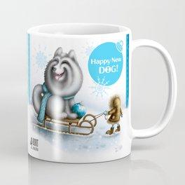 Happy New Dog Coffee Mug