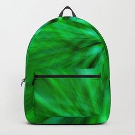 Green Star Flower Glow Backpack