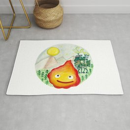 Howl's Moving Castle - Calcifer Rug