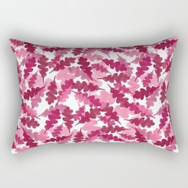 Floating Leaves Rectangular Pillow