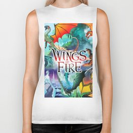Wings of Fire - All Together Biker Tank