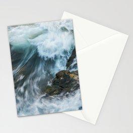 Wild Sea Rapids   Landscape photography   Seascape 1 Stationery Cards