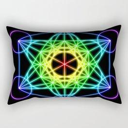 Metatron's Cube Rectangular Pillow