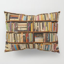 Bookshelf Books Library Bookworm Reading Pillow Sham
