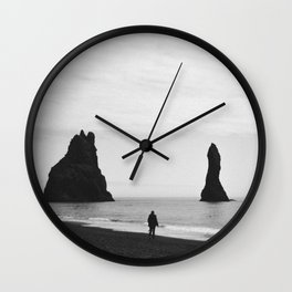 Reynisfjara Wall Clock