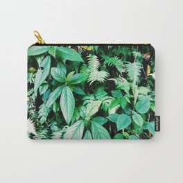 Jungle plants pattern in Minca, Colombia Carry-All Pouch