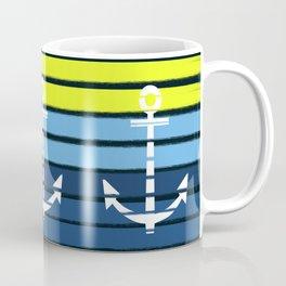 Anchor - beach theme summer tropical nautical home decor dorm decor beach life surfing boating art Coffee Mug