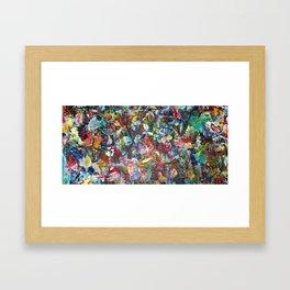 """Stellar Stretch """"Thank You"""" Framed Art Print"""