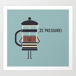 French Press Art Print