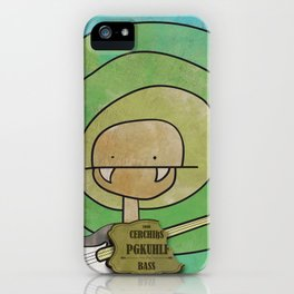 Pgkhlf from Cerchiks (Bass) iPhone Case
