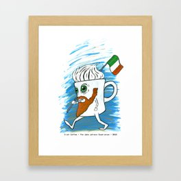 Irish Coffee Mug Framed Art Print