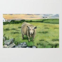 Irish Cow Rug