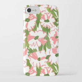 August Floral iPhone Case