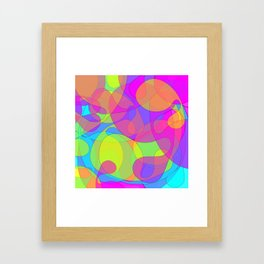 blob 1 Framed Art Print
