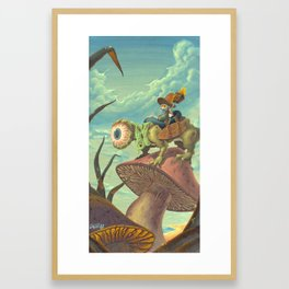 """The Search, 13""""x24"""" Framed Art Print"""