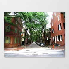 Olde City Canvas Print