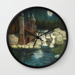 Hogwarts Moonlight Wall Clock