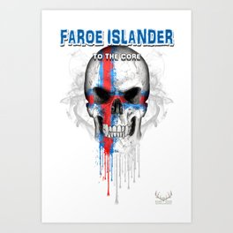 To The Core Collection: Faroe Islands Art Print
