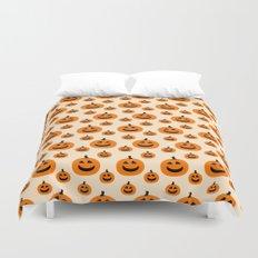 Halloween Pumpkins Duvet Cover