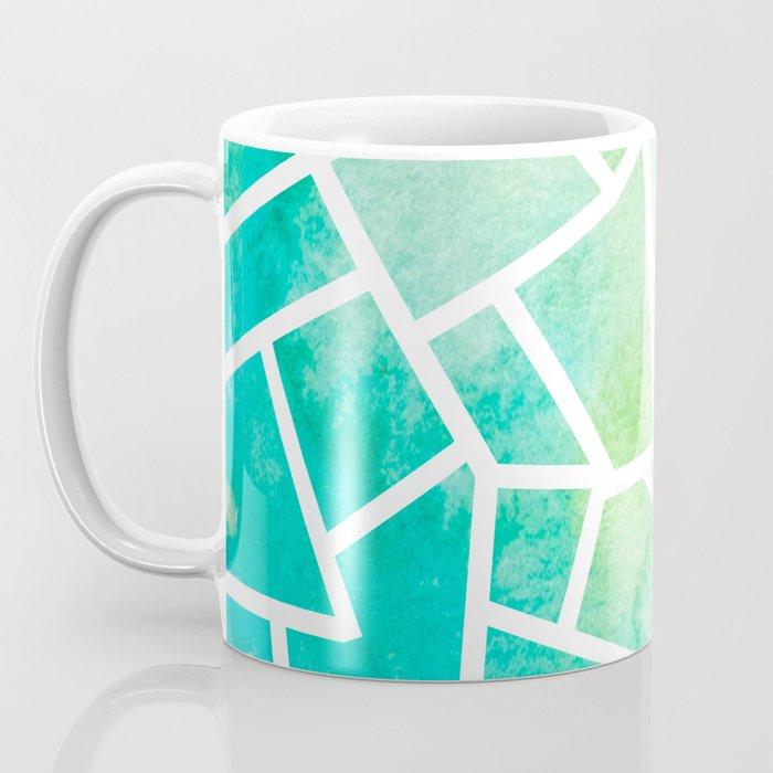 Mosaic Tile - Turquoise Waters Coffee Mug