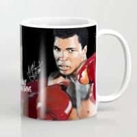 ali gulec Mugs featuring ALI 4 by YBYG