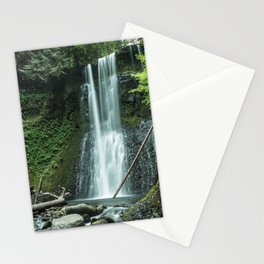 Ecola Falls in Oregon's Columbia River Gorge Stationery Cards